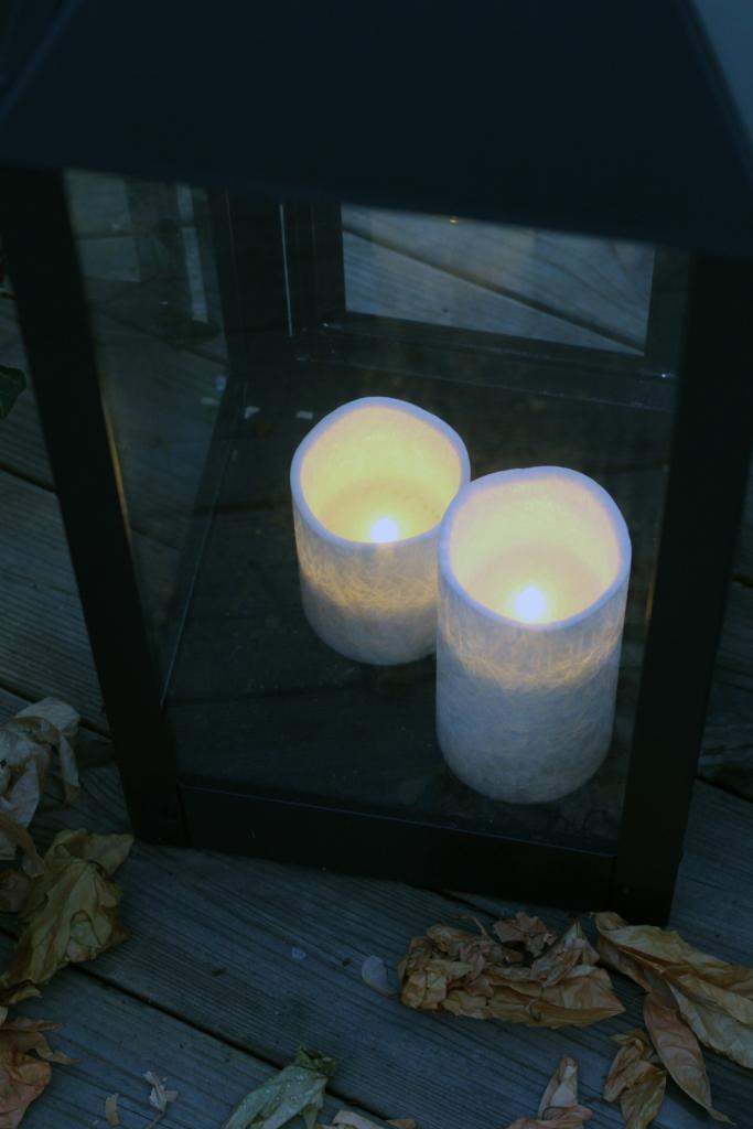 Ljuslyktor som tål att vara ute
