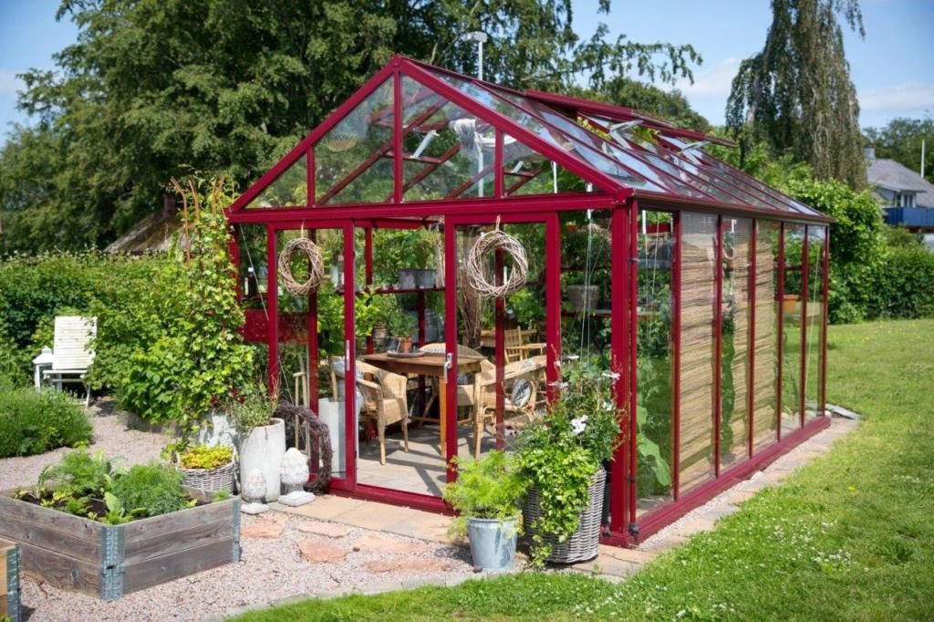 ny trädgårdssäsong växthus