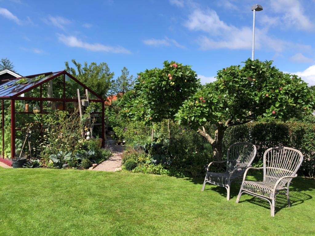I min trädgård just nu